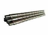 整体式三头大导程宽翼片螺旋钻杆刻槽钻杆特点